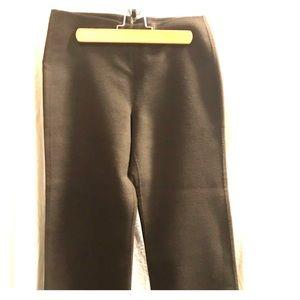 DKNY angora blend flat front w/ wide legs. Size 8